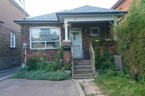 House for rent at 48 Belvidere Ave Unit Lower Toronto Ontario - MLS: C4546357