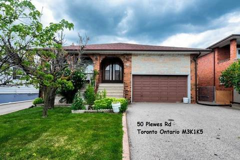 House for rent at 50 Plewes Rd Unit Lower Toronto Ontario - MLS: W4639180