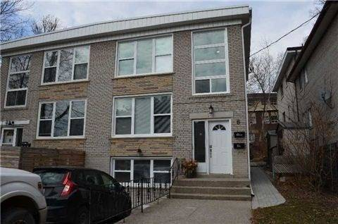 Townhouse for rent at 6 Casci Ave Unit Lower Toronto Ontario - MLS: E4657004