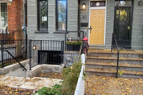 Townhouse for rent at 60 Massey St Unit Lower Toronto Ontario - MLS: C4954826