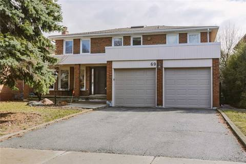 House for rent at 69 Mossgrove Tr Unit Lower Toronto Ontario - MLS: C4699689