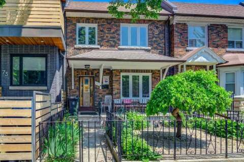 Townhouse for rent at 71 Denison Ave Unit Lower Toronto Ontario - MLS: C4791093