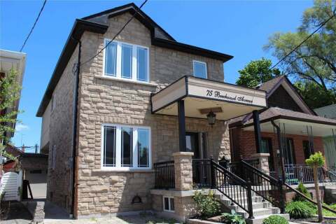 Home for rent at 75 Beechwood Ave Unit Lower Toronto Ontario - MLS: W4958104