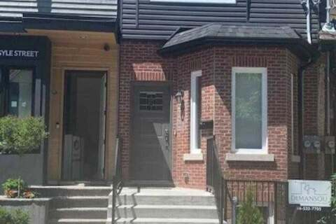 Townhouse for rent at 92 Argyle St Unit Lower Toronto Ontario - MLS: C4954332