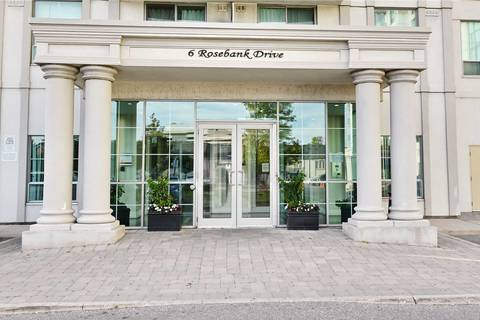 Condo for sale at 6 Rosebank Dr Unit Lph #b Toronto Ontario - MLS: E4557373