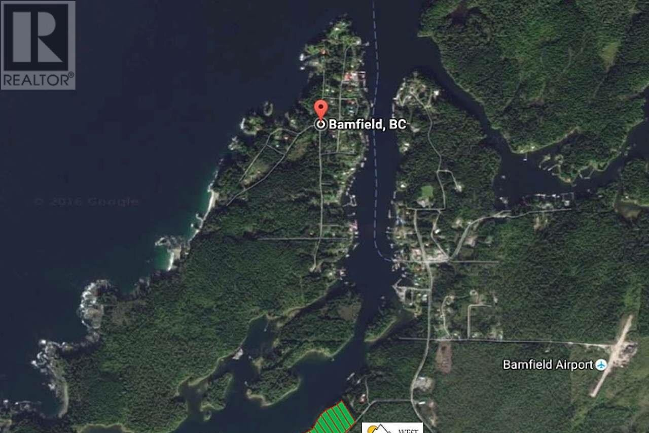 Residential property for sale at 13 Bamfield Rd S Unit LT Bamfield British Columbia - MLS: 746696