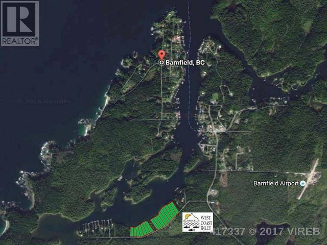 Home for sale at 13 Bamfield S Rd Unit Lt Bamfield British Columbia - MLS: 417337