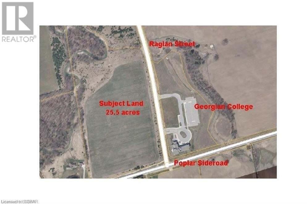 Residential property for sale at 40 Raglan St Unit LT Collingwood Ontario - MLS: 117660