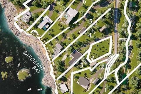 Home for sale at 7 Cove Beach Ln Unit LT 7 Halfmoon Bay British Columbia - MLS: R2365573