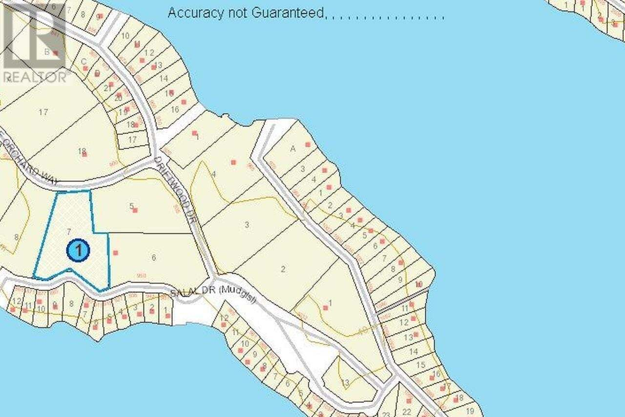 Residential property for sale at LT 7 Salal  Mudge Island British Columbia - MLS: 841970