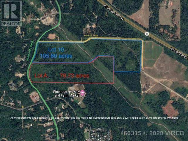 Residential property for sale at  Lt A Spider Rd Qualicum Beach British Columbia - MLS: 466315