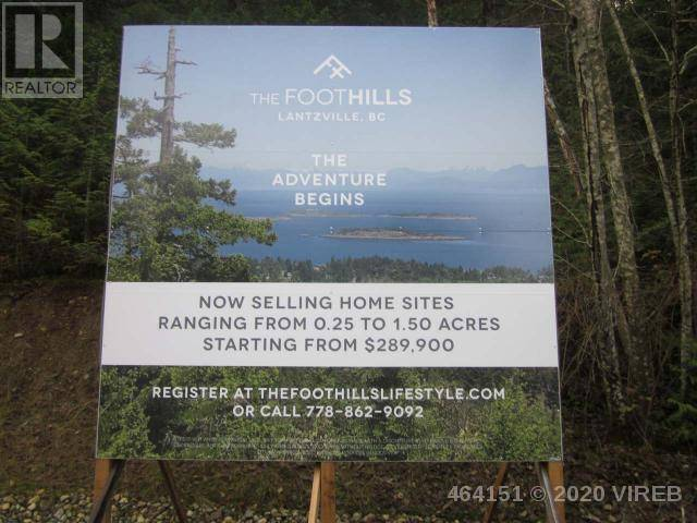 Residential property for sale at  Lt Foothills  Lantzville British Columbia - MLS: 464151