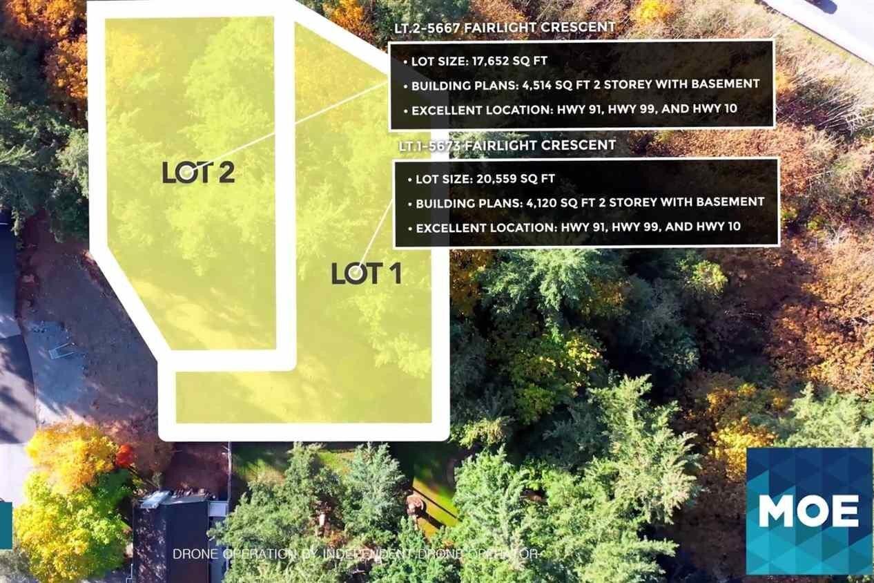 Home for sale at 5673 Fairlight Cres Unit LT.1 Delta British Columbia - MLS: R2509379