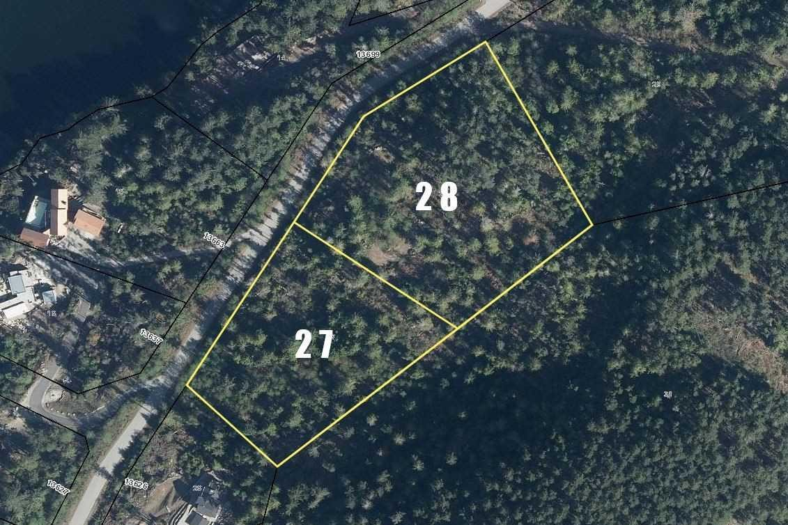 Residential property for sale at LT27&28 Sakinaw Dr Garden Bay British Columbia - MLS: R2408232