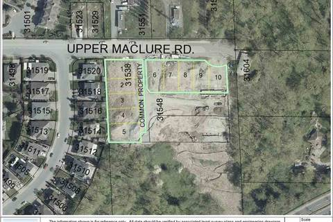Home for sale at 31538 Upper Maclure Rd Unit LT.6 Abbotsford British Columbia - MLS: R2408762
