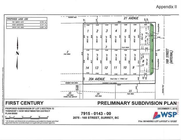 Buliding: 2075 168 Street, Surrey, BC