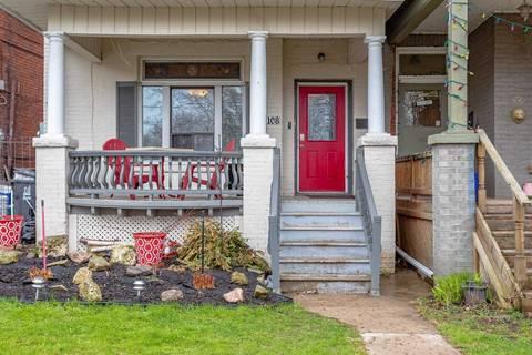 Townhouse for rent at 108 Springhurst Ave Unit Main Toronto Ontario - MLS: W4574737