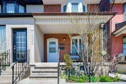 Townhouse for rent at 1320 Dupont St Unit Main Toronto Ontario - MLS: W4500853