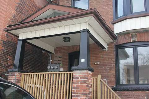 House for rent at 151 Wallace Ave Unit Main Toronto Ontario - MLS: W4633824