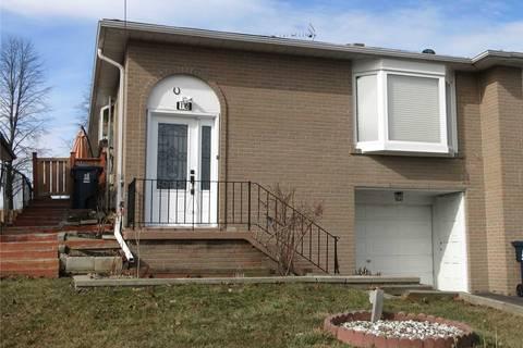 Townhouse for rent at 16 Clappison Blvd Unit Main Toronto Ontario - MLS: E4715998