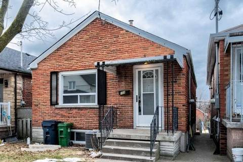 House for rent at 168 Ennerdale Rd Unit Main Toronto Ontario - MLS: W4721758