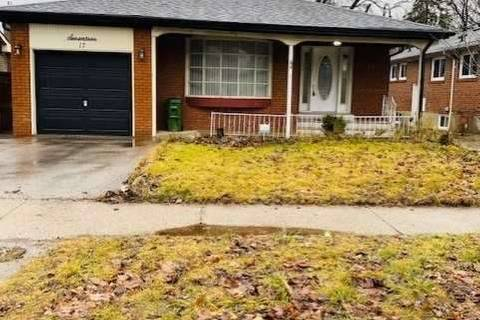 House for rent at 17 Ravenview Dr Unit Main Toronto Ontario - MLS: E4666021