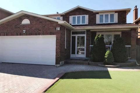 House for rent at 21 Raynes Cres Unit Main Toronto Ontario - MLS: E4553836