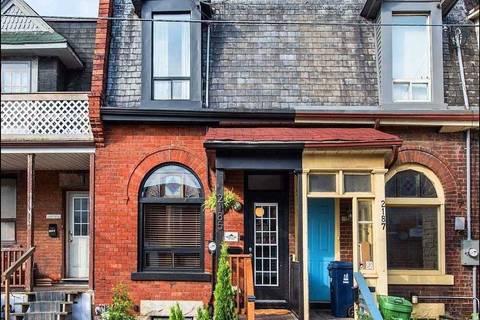 Townhouse for rent at 2185 Dundas St Unit Main Toronto Ontario - MLS: W4549595