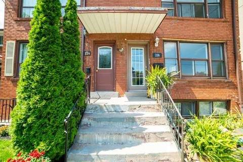 Townhouse for rent at 226 Pickering St Unit Main Toronto Ontario - MLS: E4549227