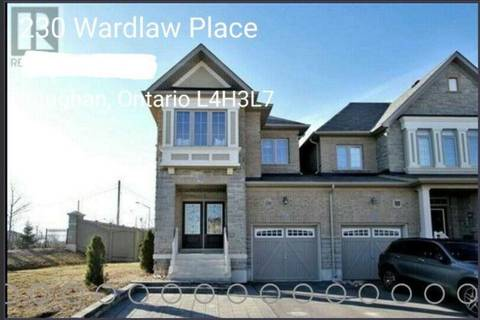 Townhouse for rent at 230 Wardlaw Pl Unit Main Vaughan Ontario - MLS: N4666996