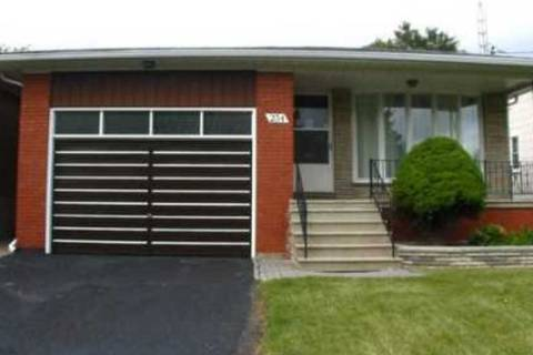 House for rent at 234 Hounslow Ave Unit Main Toronto Ontario - MLS: C4432498