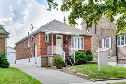 House for rent at 24 Smithfield Dr Unit Main Toronto Ontario - MLS: W4672385