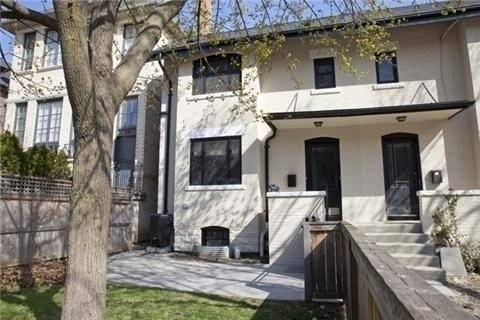 Townhouse for rent at 26 Duggan Ave Unit Main Toronto Ontario - MLS: C4624919