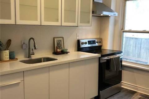 Townhouse for rent at 317 Jones Ave Unit Main Toronto Ontario - MLS: E4657724