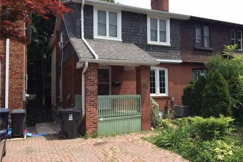 Townhouse for rent at 33 Lorindale Ave Unit Main Toronto Ontario - MLS: C4430577