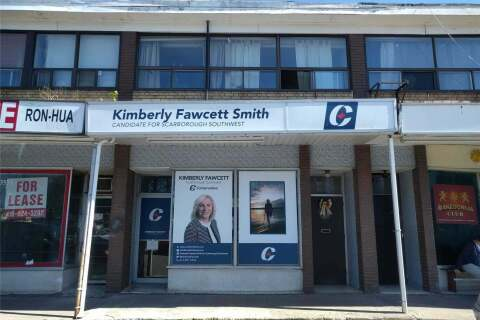 Commercial property for lease at 3551 St Clair Ave Apartment Main Toronto Ontario - MLS: E4782578