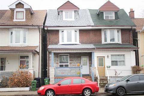 Townhouse for rent at 498 Jones Ave Unit Main Toronto Ontario - MLS: E4736413