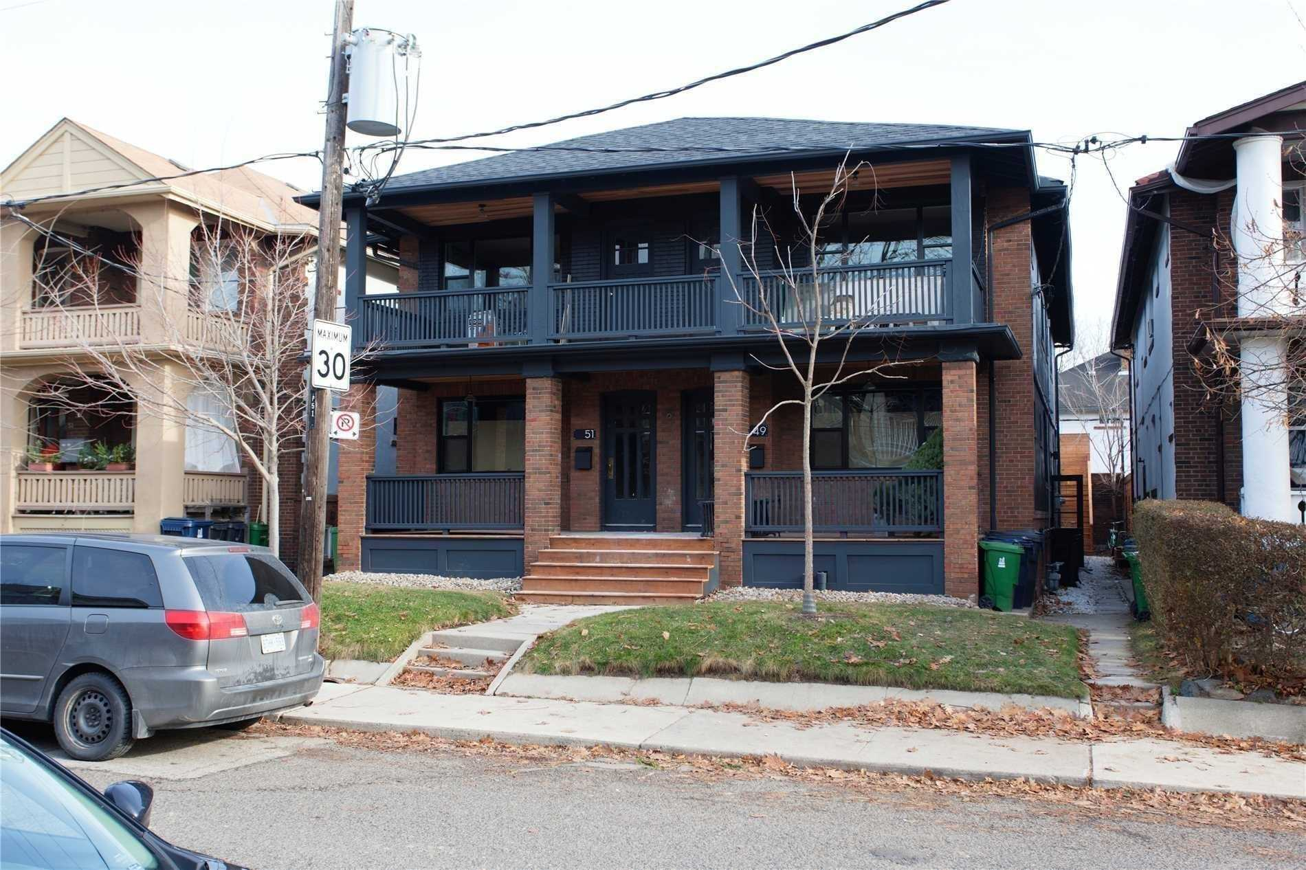For Rent: Main - 51 Wineva Avenue, Toronto, ON | 2 Bed, 1 Bath Townhouse for $2950.00. See 15 photos!