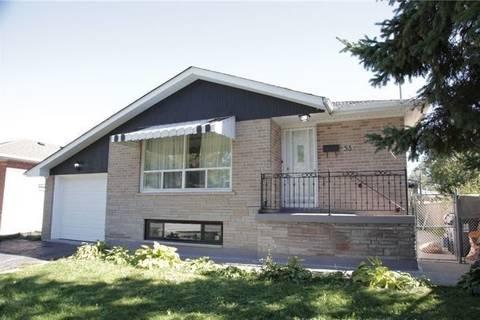 House for rent at 53 Gardentree St Unit Main Toronto Ontario - MLS: E4528996
