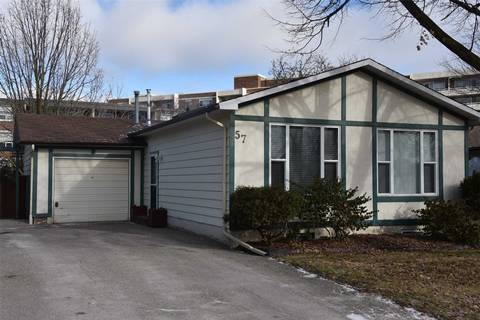 House for rent at 57 Maplegrove Ave Unit Main Bradford West Gwillimbury Ontario - MLS: N4327029