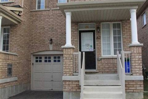 Townhouse for rent at 62 Jackson Eli Wy Unit Main Markham Ontario - MLS: N4597071