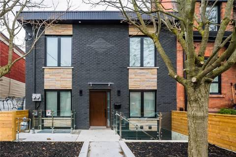 Townhouse for rent at 63 Argyle St Unit Main Toronto Ontario - MLS: C4669585