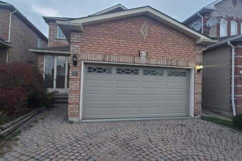 House for rent at 63 Summerlea St Unit Main Markham Ontario - MLS: N4962379