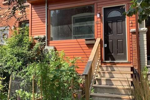 Townhouse for rent at 68 Hamilton St Unit Main Toronto Ontario - MLS: E4593632