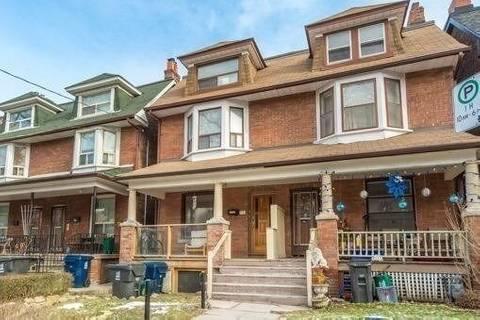 Townhouse for rent at 751 Markham St Unit Main Toronto Ontario - MLS: C4546873
