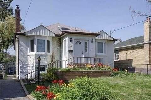 House for rent at 80 Otanabee Ave Unit Main Toronto Ontario - MLS: C4950552