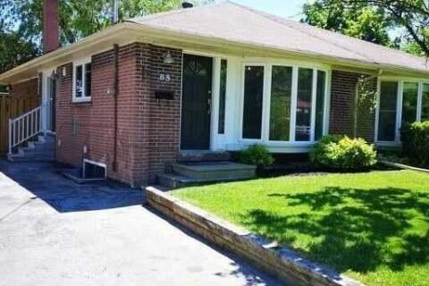 Townhouse for rent at 85 Billington Cres Unit Main Toronto Ontario - MLS: C4776760