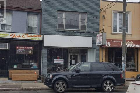 Commercial property for lease at 870 Bathurst St Apartment Main Toronto Ontario - MLS: C4659629