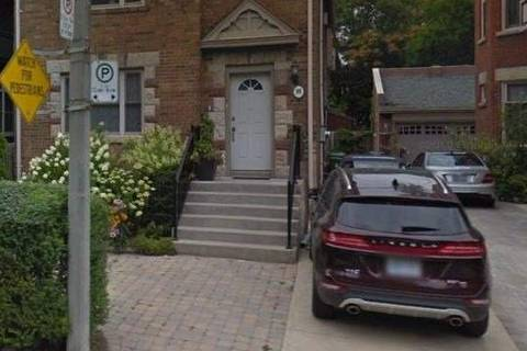 House for rent at 98 Lowther Ave Unit Main Toronto Ontario - MLS: C4520854