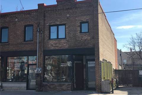 Commercial property for lease at 1597 Dupont St Apartment Main Fl Toronto Ontario - MLS: W4400264